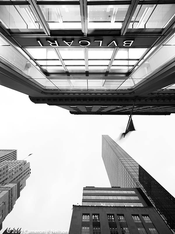 Bulgari in Manhattan Straight Up by Cameron R Neilson